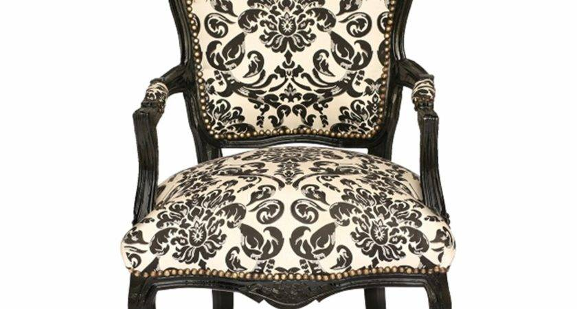 Bedroom Furniture Chair Shabby Chic Brocade Floral