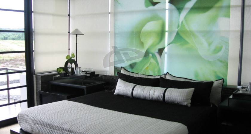 Bedroom Green Color Bedrooms Interior Design Ideas