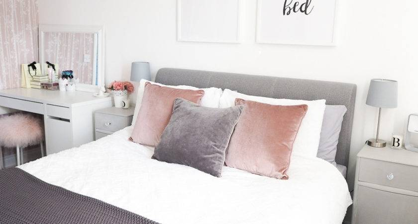Bedroom Tour Pink Grey Decor Bang Style