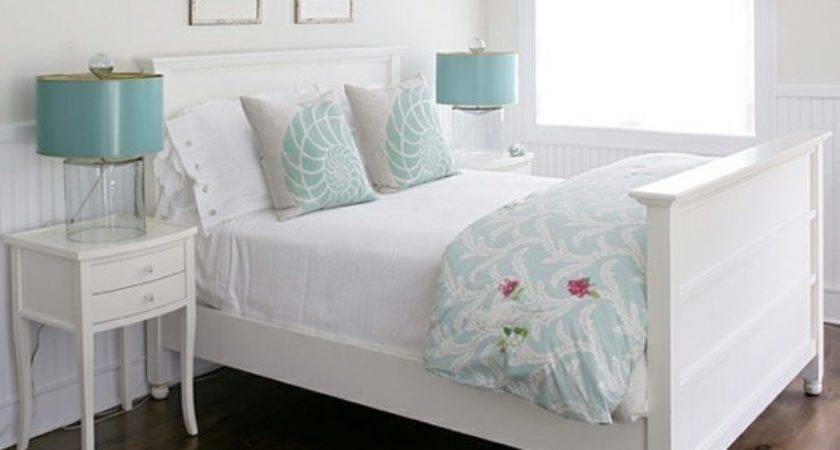 Bedroom Turquoise White