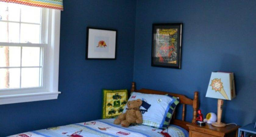 Before After Eclectic Boy Bedroom Makeover
