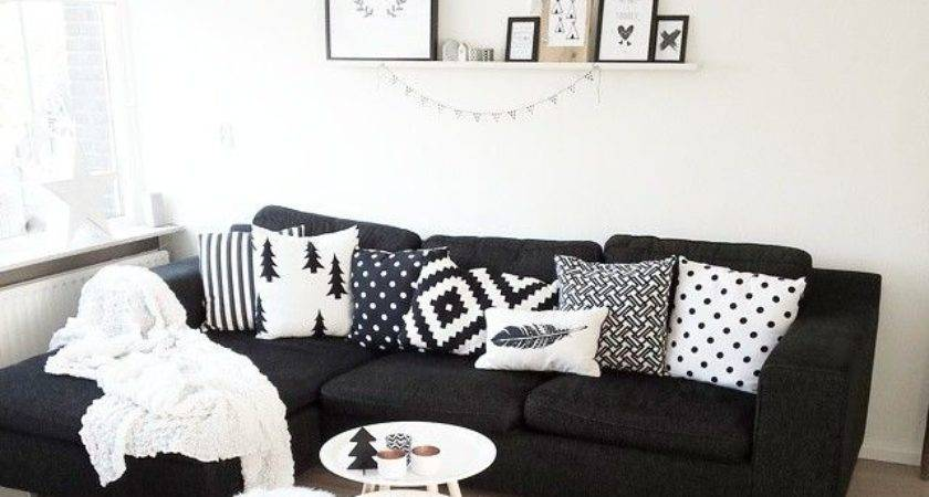 Best Black Couch Decor Ideas Pinterest Sofa