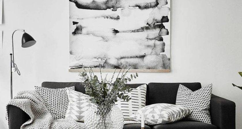 Best Black Couch Decor Ideas Pinterest