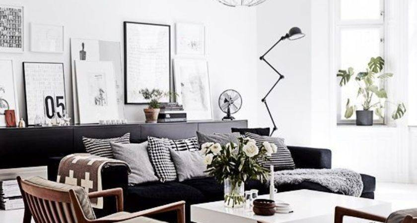 Best Black Sofa Ideas Pinterest Dark Living