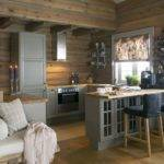 Best Cabin Kitchens Ideas Pinterest Log
