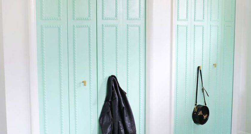 Best Closet Door Makeover Ideas Pinterest