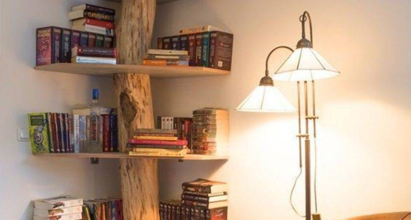 Best Creative Bookshelves Ideas Pinterest Natural