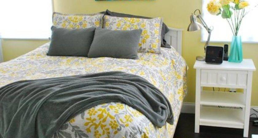 Best Gray Yellow Bedrooms Ideas Pinterest