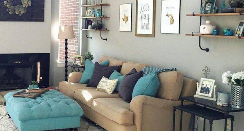 Best Living Room Turquoise Ideas Pinterest Colour