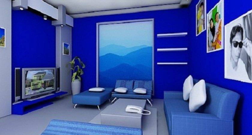 Best Modern Blue Living Room Design