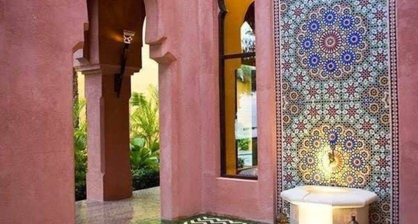 Best Moroccan Garden Ideas Pinterest Small