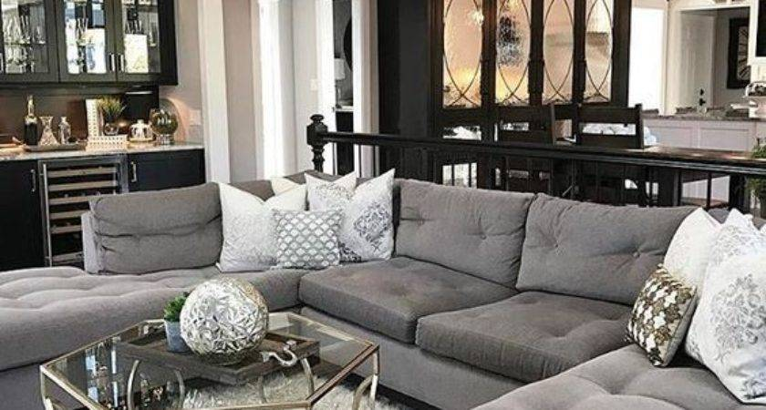 Best New Dark Gray Couch Living Room Ideas Home Remodel