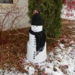 Best Outdoor Snowman Ideas Pinterest