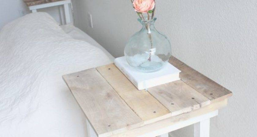 Best Pallet Night Stands Ideas Pinterest