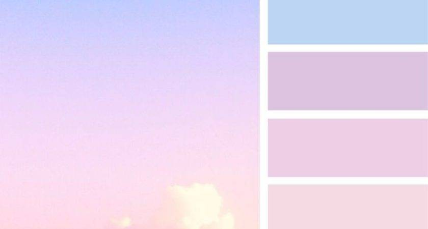 Best Pastel Palette Ideas Pinterest
