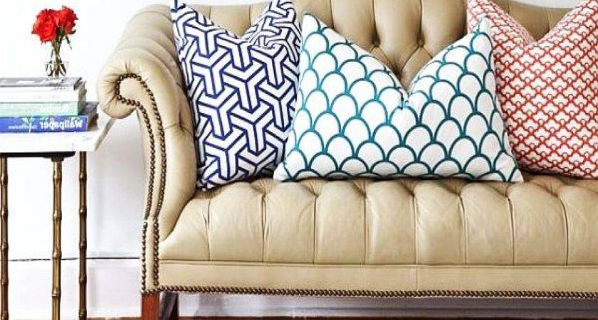 Best Pillows Leather Couch Ideas