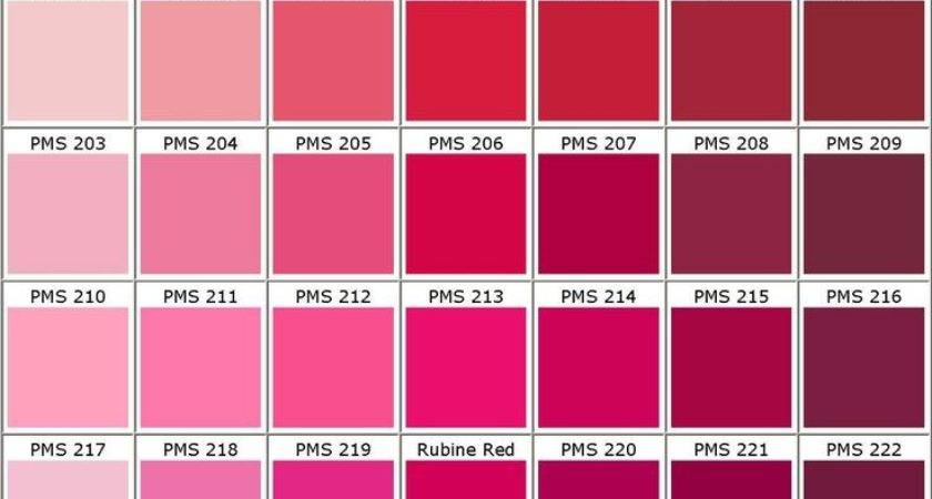Best Pink Color Chart Ideas Pinterest Names