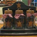 Best Primitive Mason Jars Ideas Pinterest Rustic