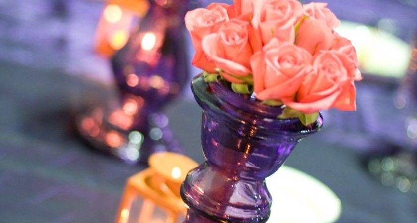 Best Purple Coral Wedding Ideas Pinterest