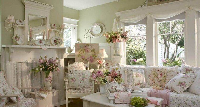 Best Shabby Chic Living Room Decor Ideas Designs