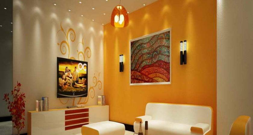 Best Wall Colour Combinations Living Room