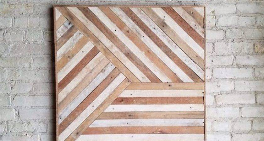 Best Wood Wall Art Ideas Pinterest Reclaimed