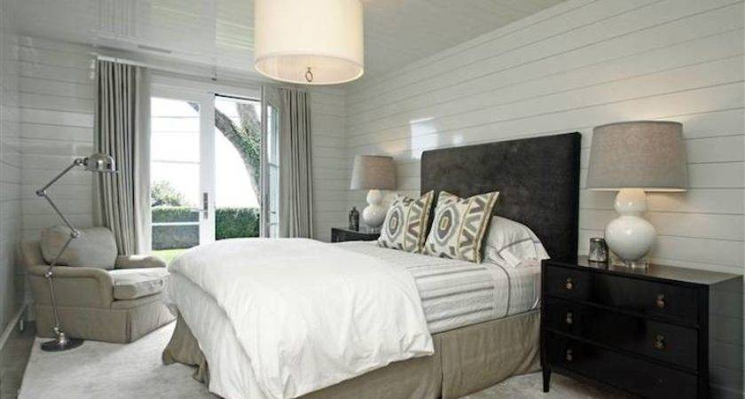 Black Beige Bedroom Transitional Hills