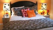 Black Orange Bedroom Ideas