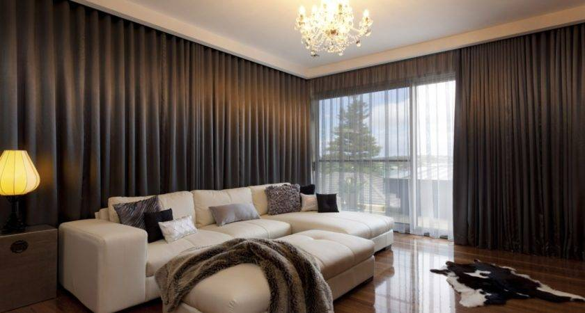 Black Out Curtain Ideas Living Room Brown