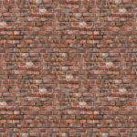 Black Red Aged Brick Wall Mural Muralswallpaper