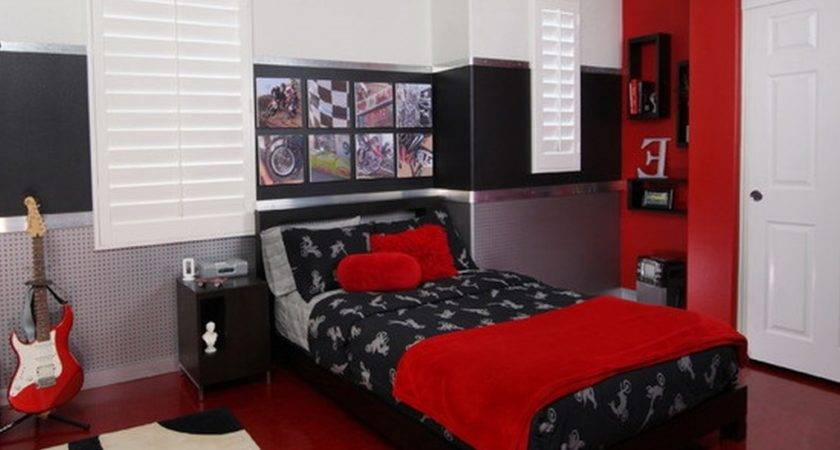 Black Red Bedroom Furniture Collections