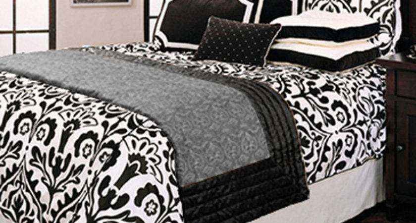 Black White Bedding Bedroom Ideas