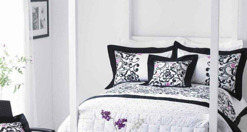 Black White Bedrooms Designs Home Design Inside