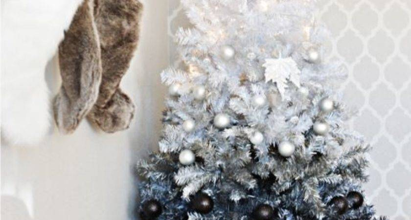 Black White Christmas Decorations Diy Mama