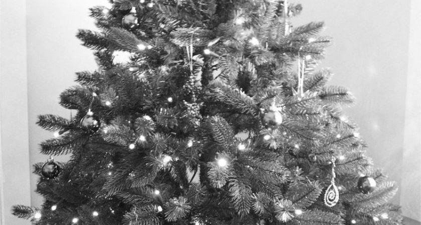 Black White Christmas
