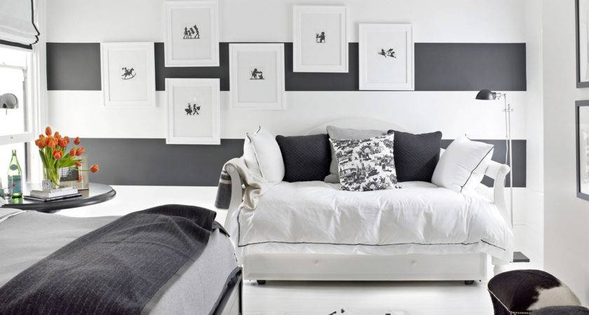 Black White Designer Rooms