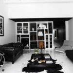 Black White Interior Ideas Shophouse