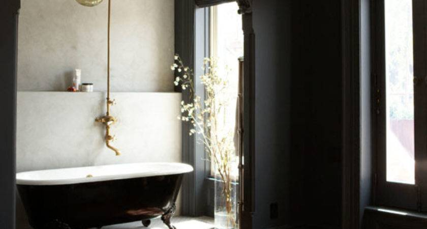 Black White Vintage Bathroom Ideas Home Designs Project