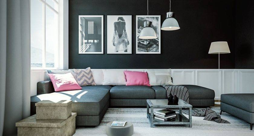 Black White Wall Decor Living Room Home Decorations