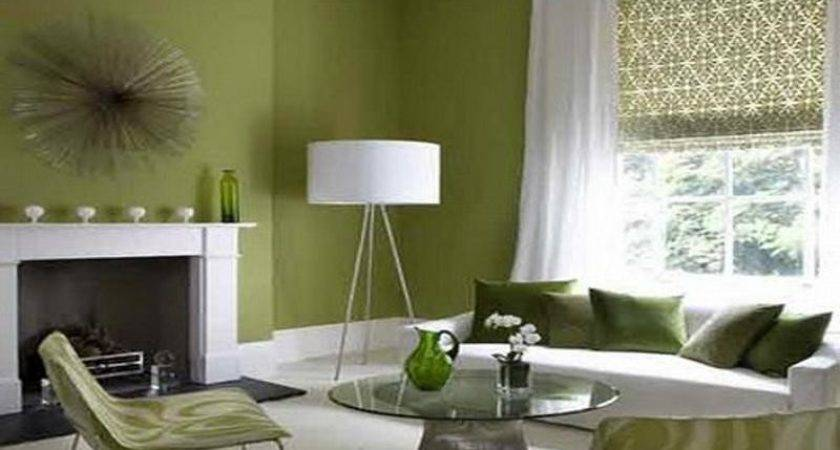 Bloombety Green White Small Living Rooms Decorating
