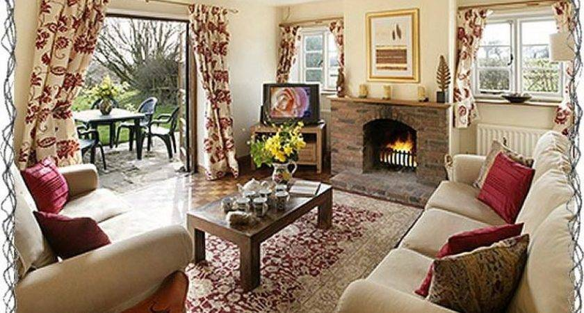 Bloombety Living Room Cottage Look Decorating Tips