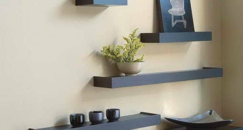 Bloombety Wall Shelving Ideas Decorative Glass Tips
