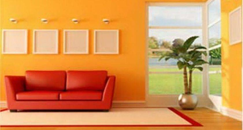 Bloombety Yellow Orange Paint Colors Architecture