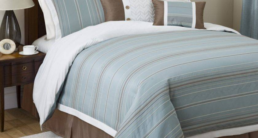 Blue Brown Bed Sets Home Decor