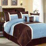 Blue Brown Bedding Sets Home Furniture Design