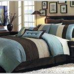 Blue Brown Comforter Sets King Uncategorized