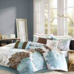 Blue Brown Elizabeth Comforter Set Zulily
