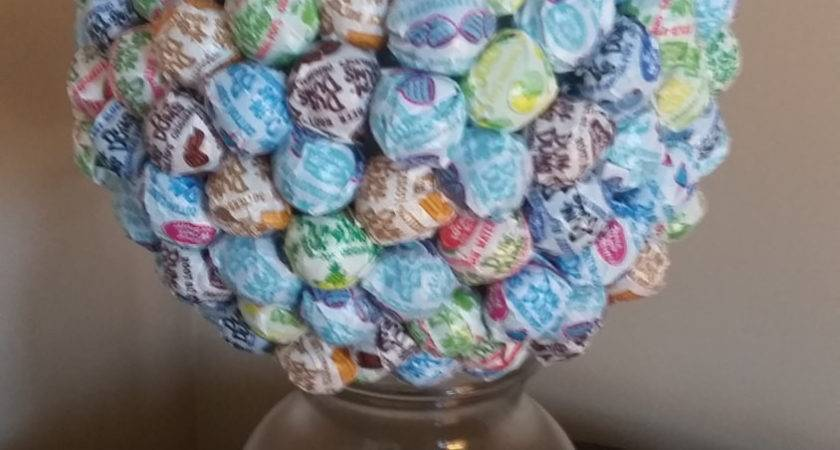 Blue Candy Centerpiece Multi Colored Party