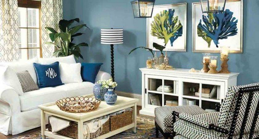 Blue Color Living Room Designs Onyoustore