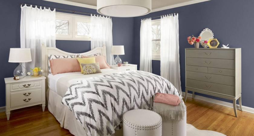 Blue Gray Bedroom Paint Colors